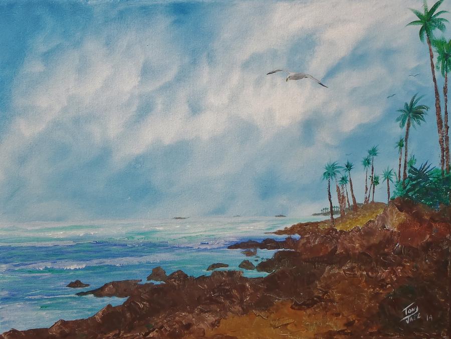 Tropics Painting - North Coast by Tony Rodriguez