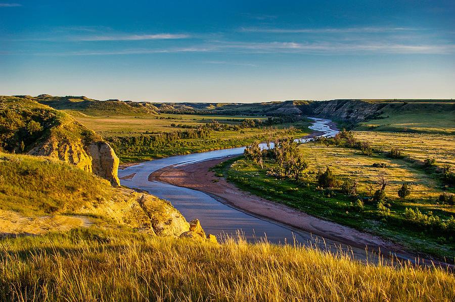 North Dakota Badlands Photograph by Rruntsch