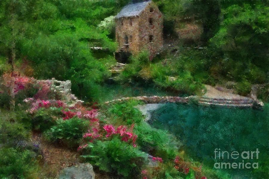 Landscape Painting Painting - North Little Rock Ark by Scott B Bennett