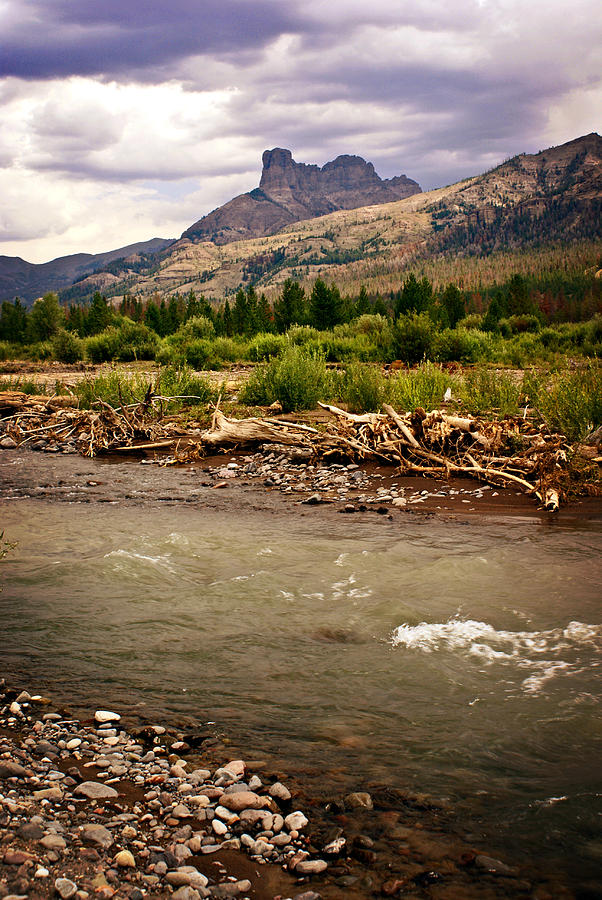 Mountains Photograph - North Of Dubois 2 by Marty Koch
