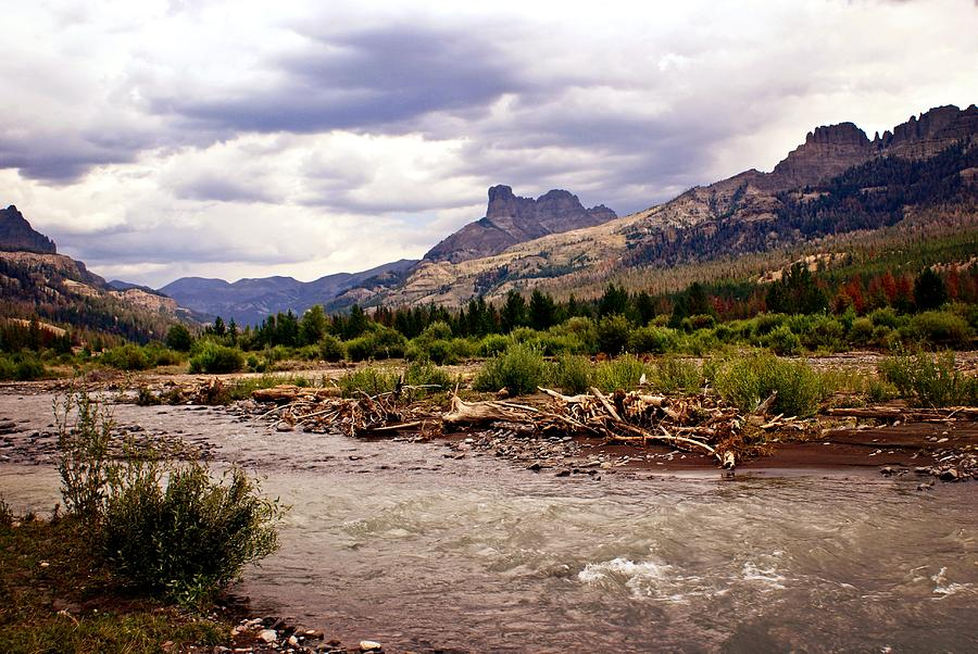 Rivers Photograph - North Of Dubois 3 by Marty Koch