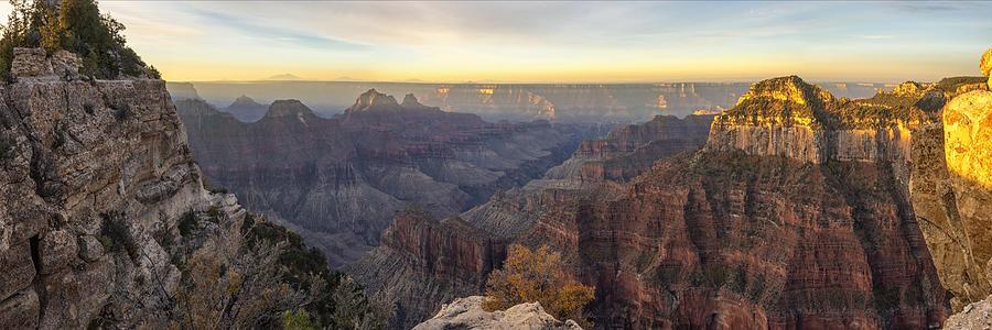 North Rim Sunrise Panorama 2 - Grand Canyon National Park - Arizona by Brian Harig