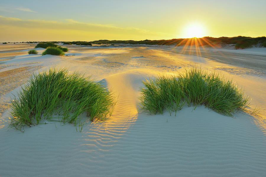 North Sea Sandbank Kniepsand Photograph by Raimund Linke