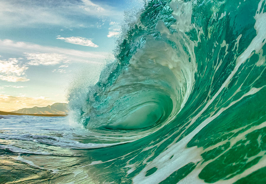 Surf Photograph - North Shore Mornings by Gregg  Daniels