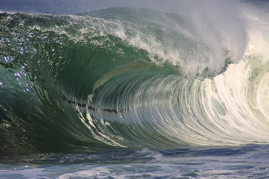 Beautiful Photograph - North Shore Powerful Wave by Vince Cavataio