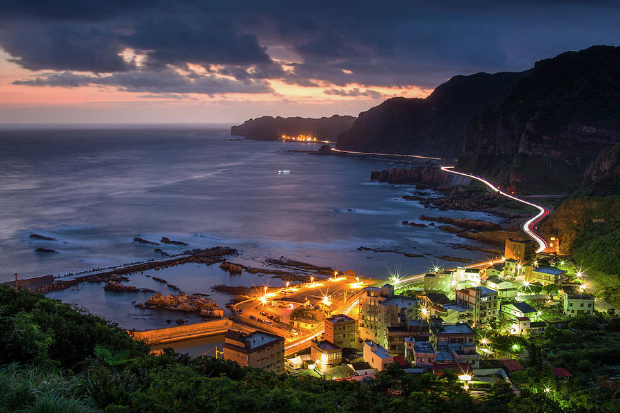 Northeast Coast Of Taiwan Photograph by Cheng-lun Chung