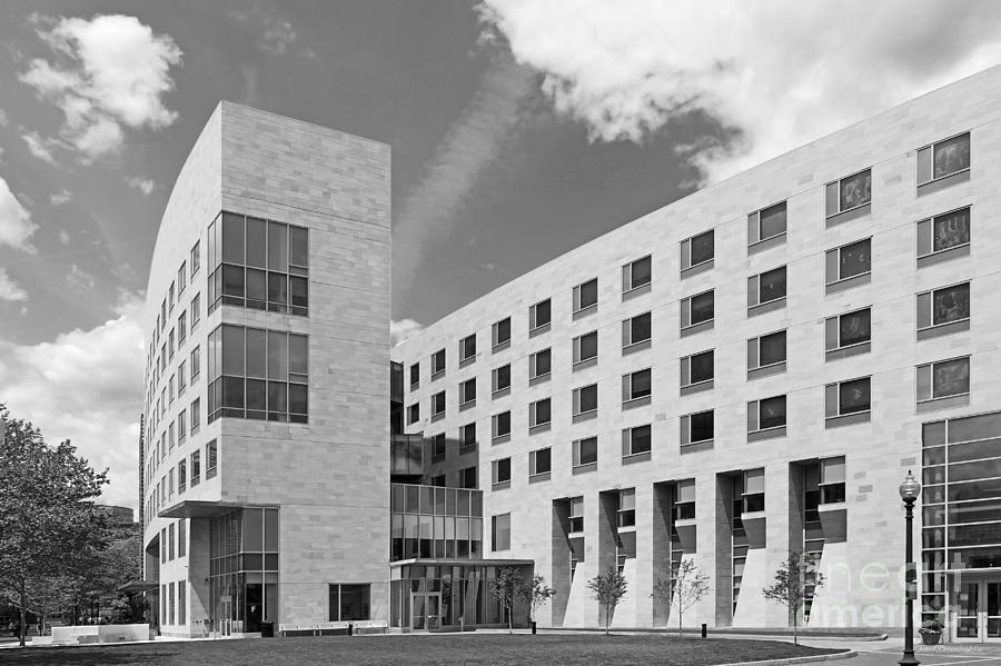 African-american Institute Photograph - Northeastern University O Bryant African American Institute by University Icons
