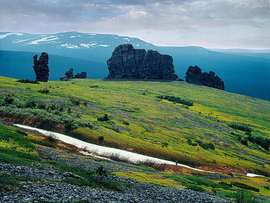 Landscape Photograph - Northen Summer Landscape by Vladimir Kholostykh
