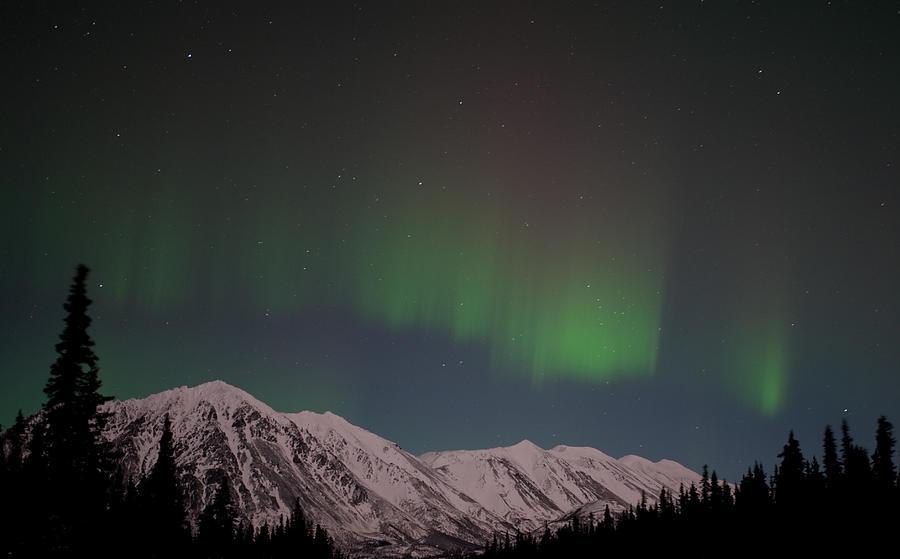 Northern Lights Photograph - Northern Lights 2 by Clint Pickarsky