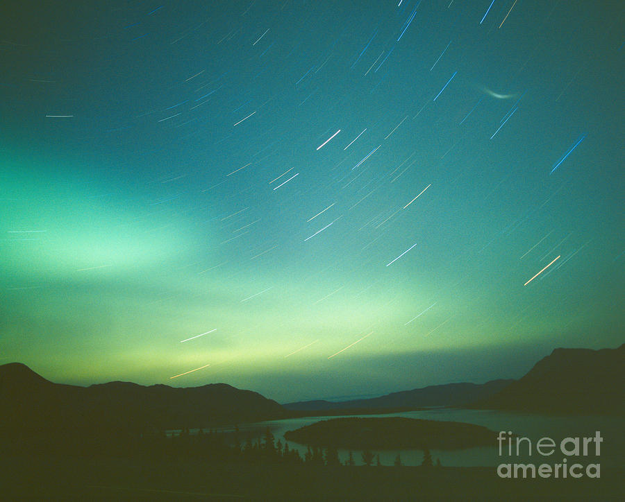 Canada Photograph - Northern Lights Over Bove Island by Tracy Knauer