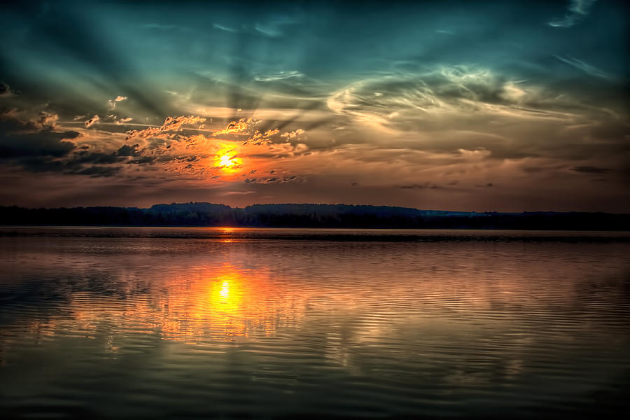 Sunrise Photograph - Northern Maine Sunrise by Gary Smith