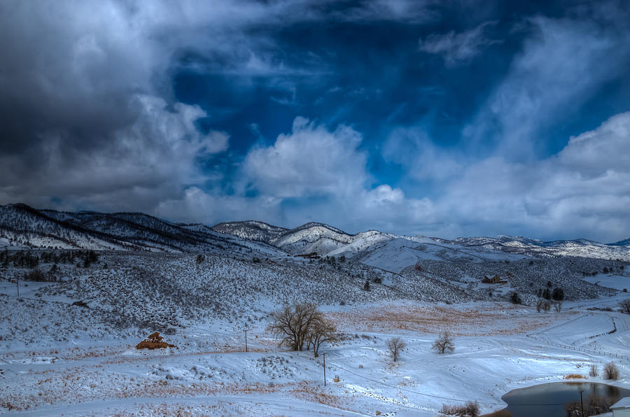 Horsetooth Reservoir Photograph - Northern View From Horsetooth Reservoir by Harry Strharsky