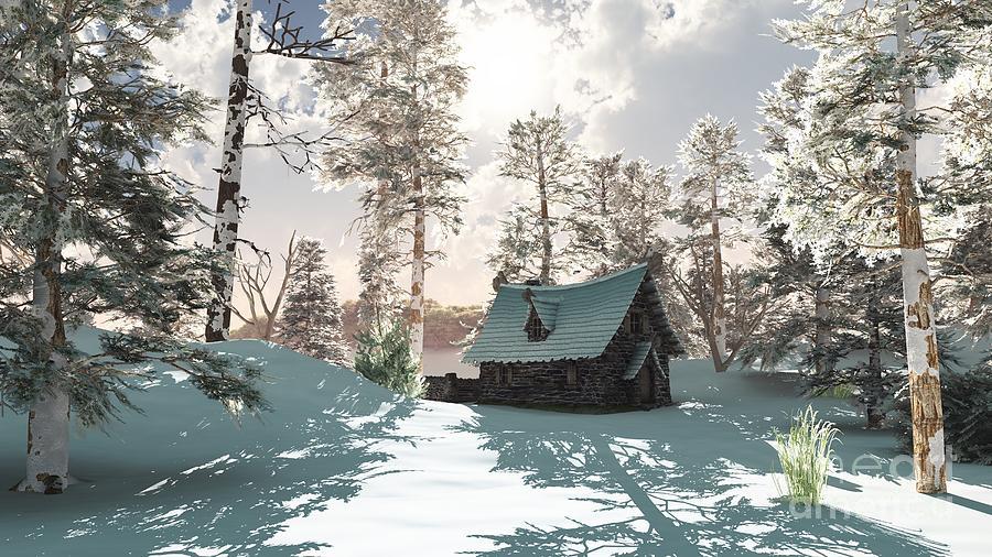 Afbeeldingsresultaat voor winter cottage
