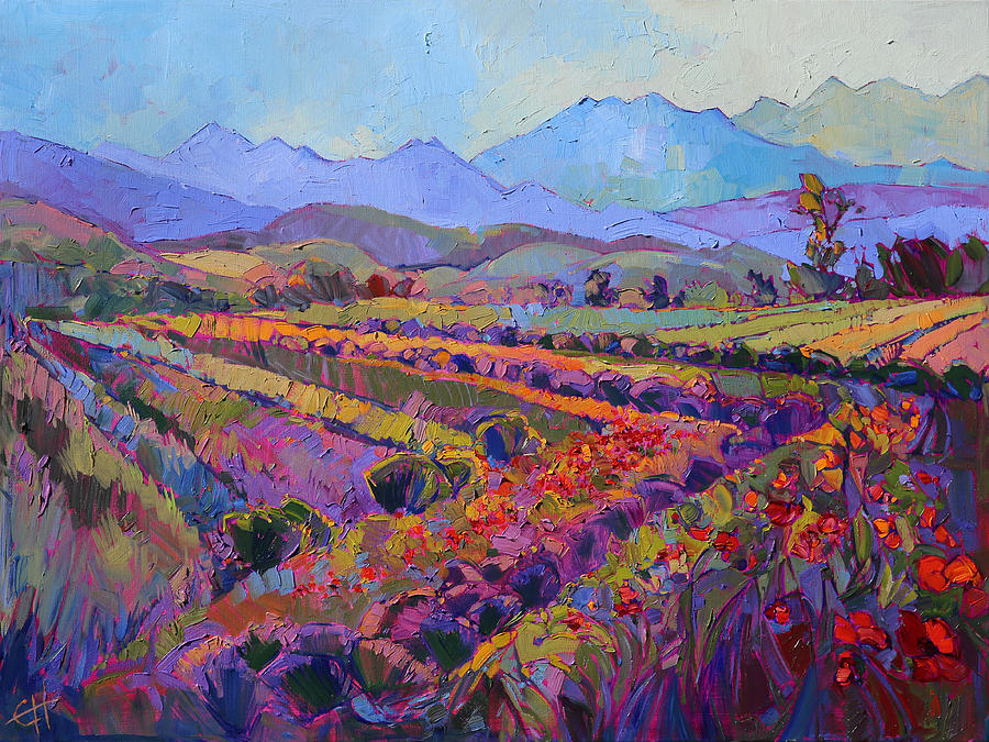 Northwest color painting by erin hanson - Fine art america ...