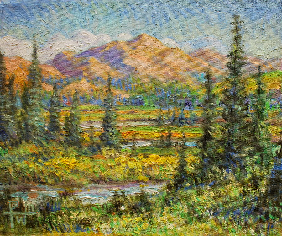 Northwest Painting - Northwest In The Rockies by Henry Potwin