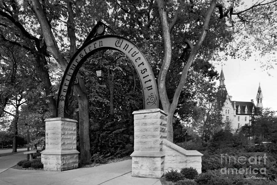 American Photograph - Northwestern University The Arch by University Icons