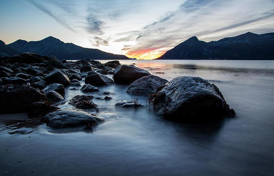 Norway Beach Sunset Photograph by Jordanwhipps1987