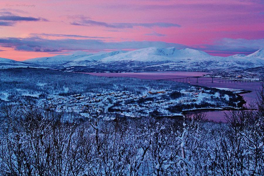 Norway Photograph - Norwegian Arctic Twilight by David Broome