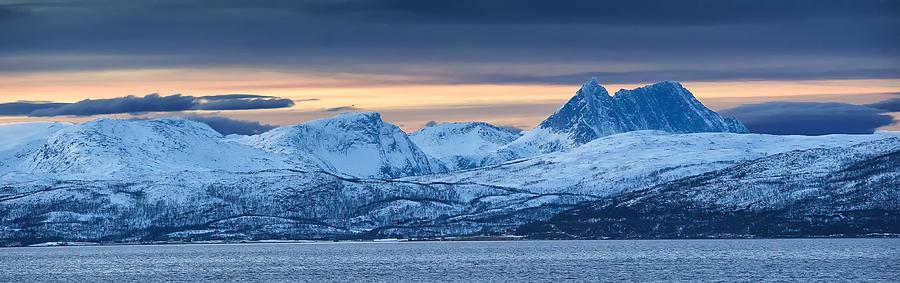 Norway Photograph - Norwegian Coast by Wade Aiken