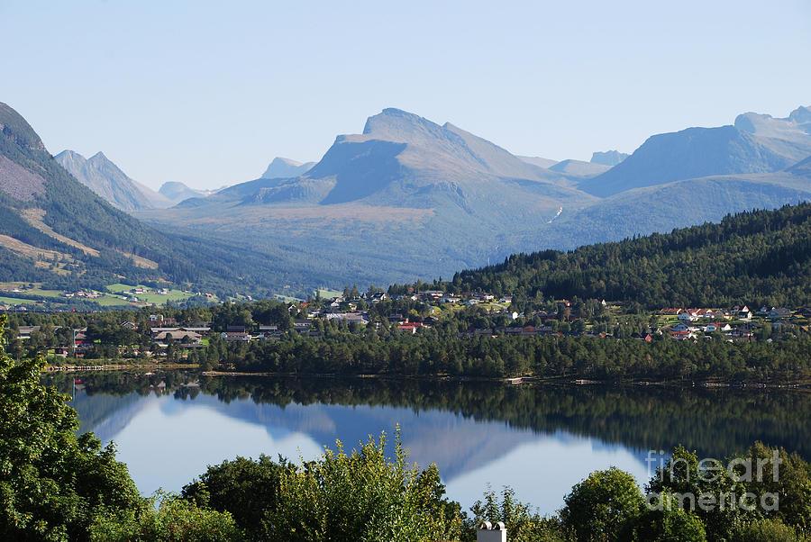 Norwegian Mountain Lake by Ankya Klay