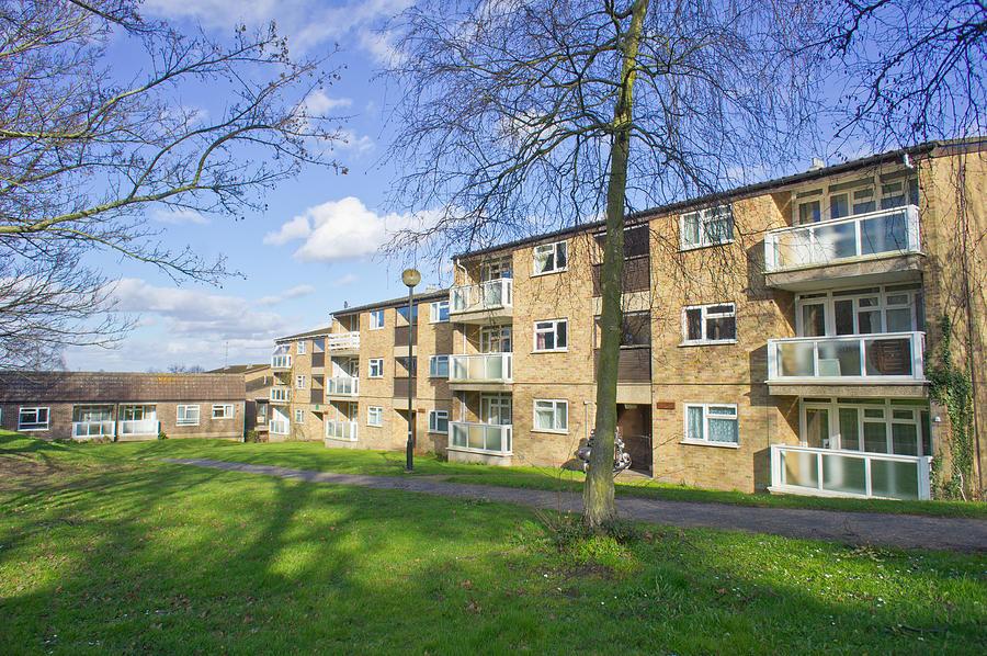 Apartment Photograph - Norwich Apartments by Tom Gowanlock