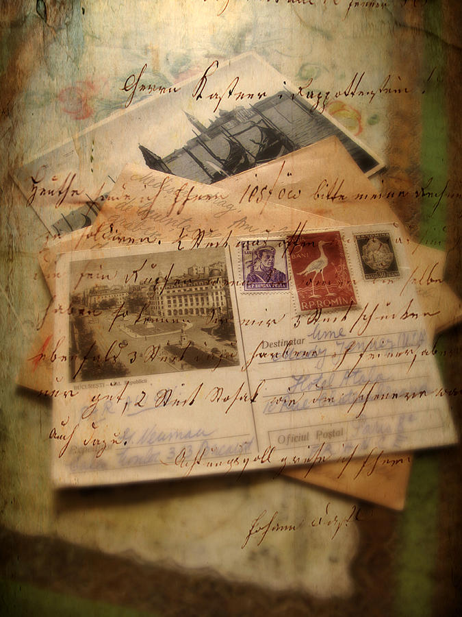 Letters Photograph - Nostalgia by Jessica Jenney