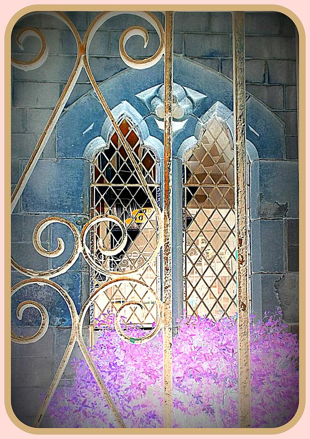 Church Photograph - Nostalgic Church Window by The Creative Minds Art and Photography