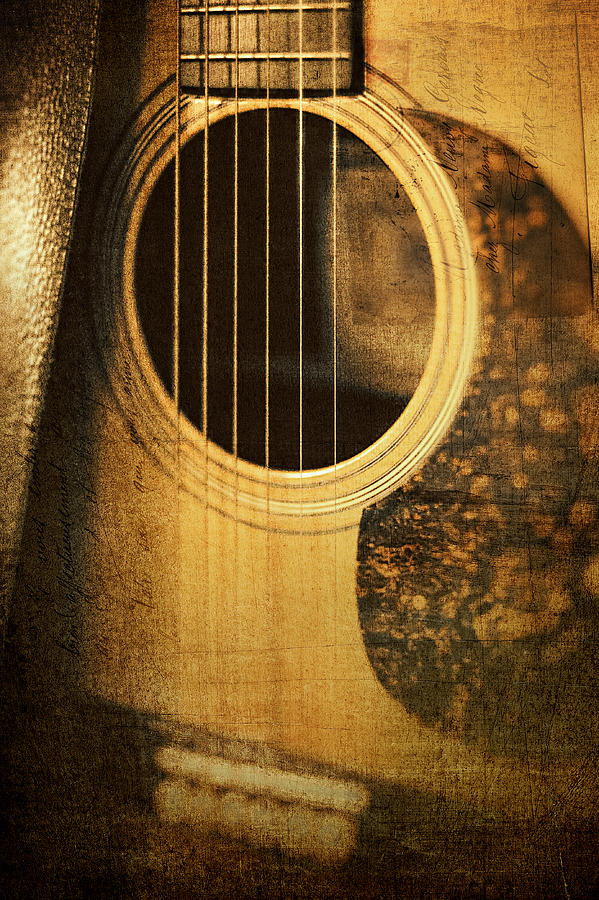 Guitar Photograph - Nostalgic Tones by Scott Norris
