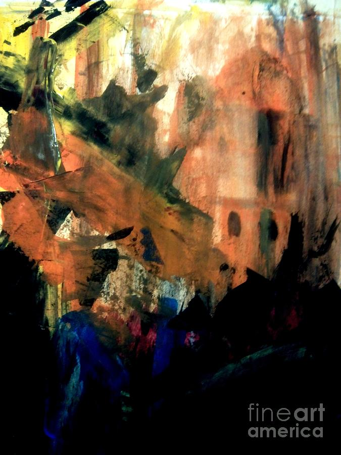 Nostalgia Painting - Nostalgic by Trilby Cole