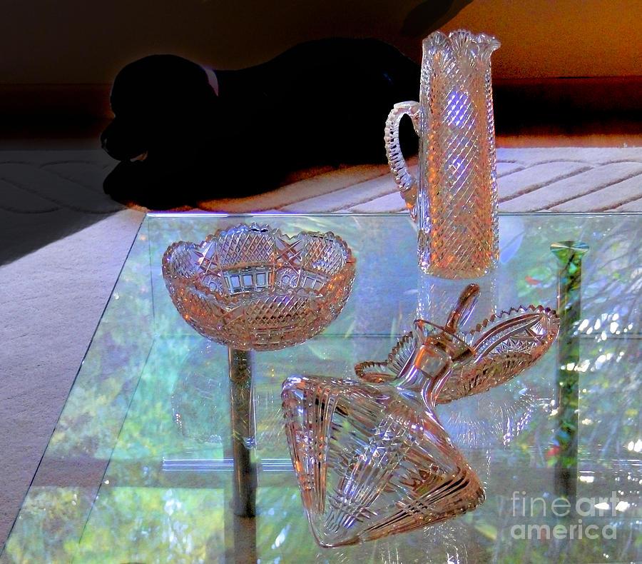 Depression Photograph - Not Depression Glass by Al Bourassa