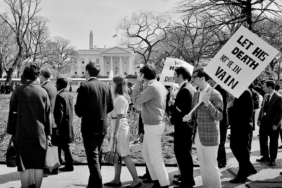 Civil Rights Photograph - Not In Vain by Benjamin Yeager