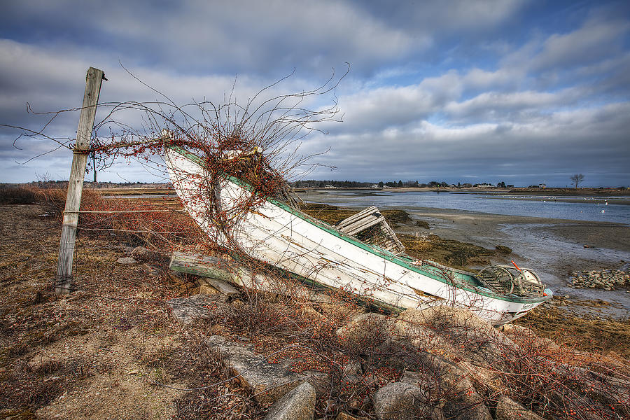 Old Photograph - Not Seaworthy by Eric Gendron