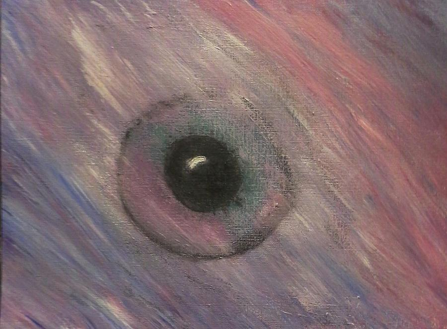 Eye Painting - Not Seen by Kelly Stenger