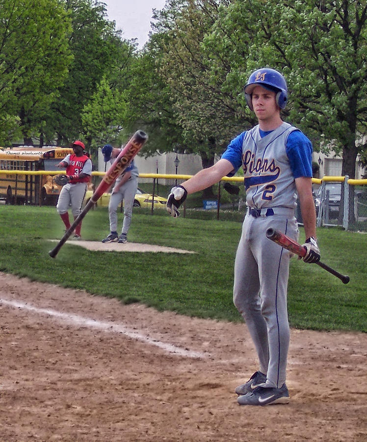 Sports Photograph - Not This Bat by Thomas Woolworth