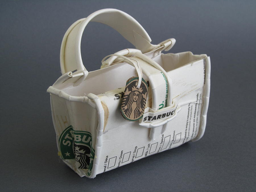 Bag Sculpture - not your LV bag by Alfred Ng