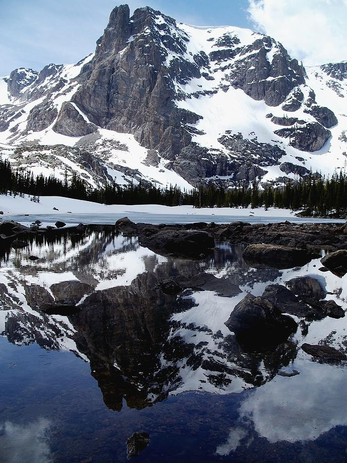 Tranquil Photograph - Notchtop Reflection by Tranquil Light  Photography