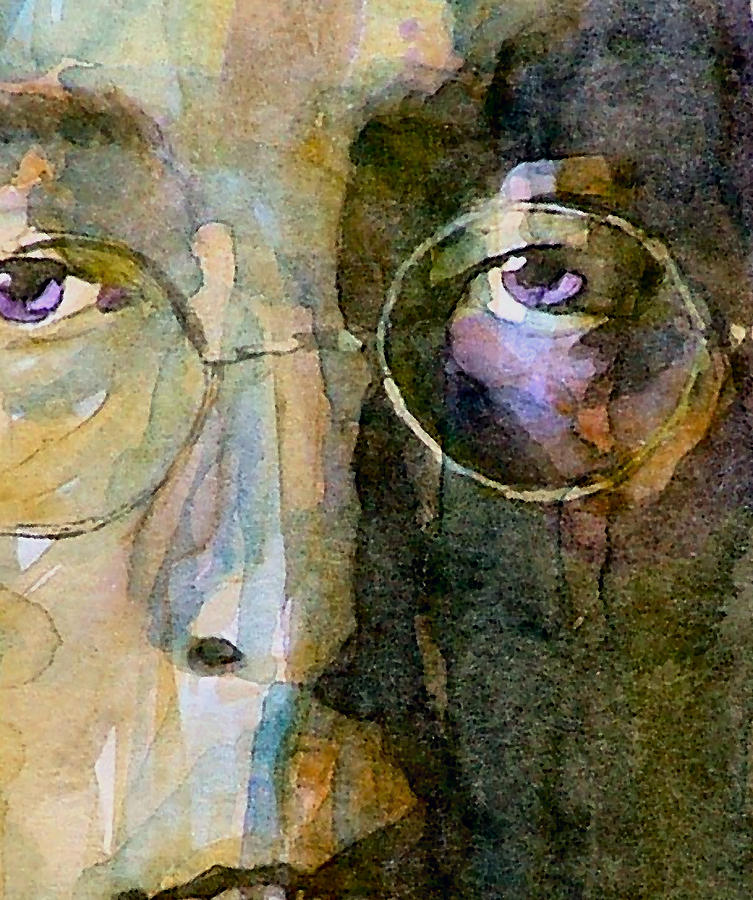 John Lennon Painting - Nothin Gonna Change  My World  by Paul Lovering