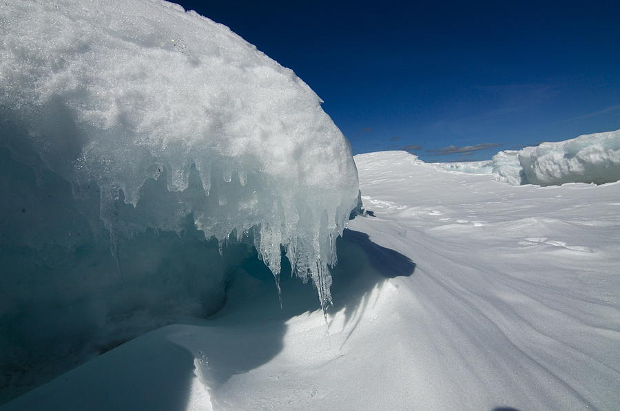 Nothing But Ice Photograph by Sandra Updyke