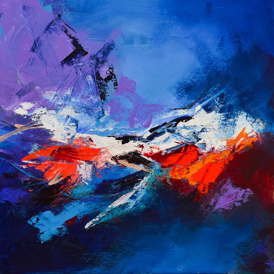 Acrylic Painting - Nothing Else Matters by Elise Palmigiani