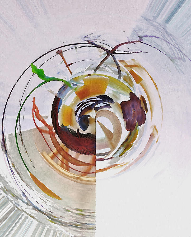 Abstract Digital Art - Nothing Special 1 by Yury Malkov