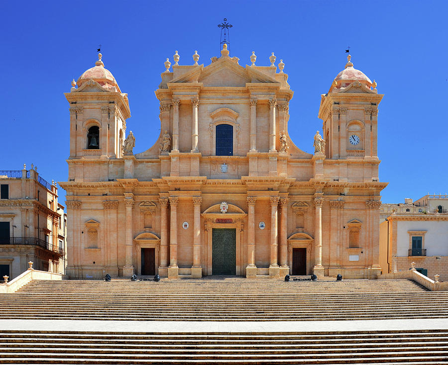 Noto Cathedral Photograph by Karl Borg