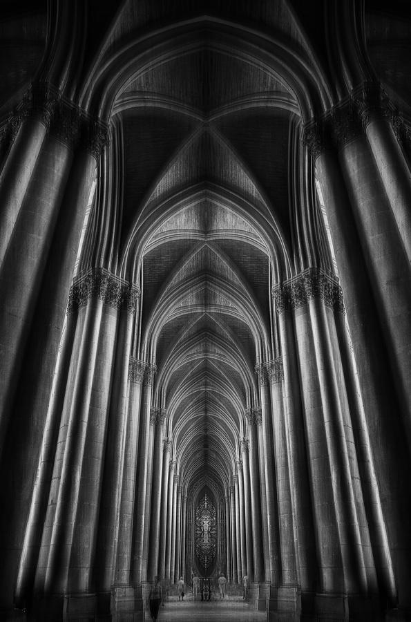 France Photograph - Notre-dame Catha?dral by Oussama Mazouz