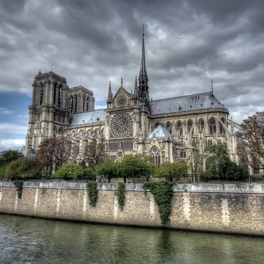 Notre Dame Photograph - Notre Dame Cathedral by Ioan Panaite