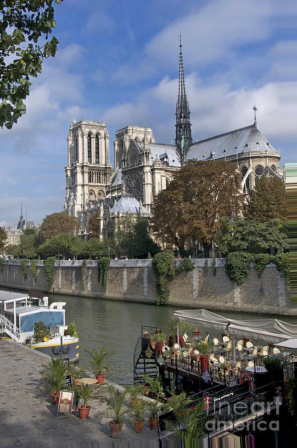Paris Photograph - Notre Dame Cathedral. Paris by Bernard Jaubert