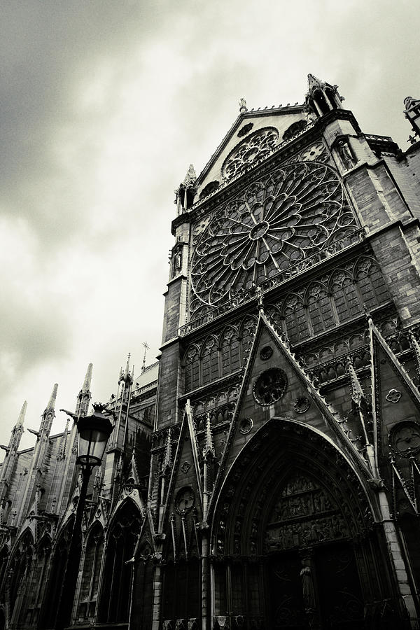Paris Photograph - Notre Dame de Paris by Cambion Art