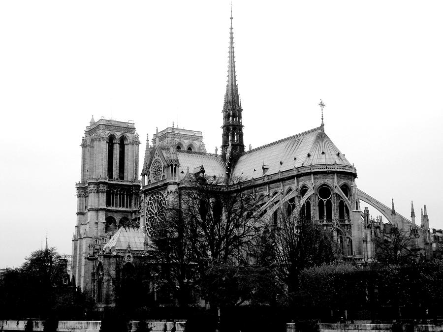 Notre Dame Photograph - Notre Dame by Rita Haeussler