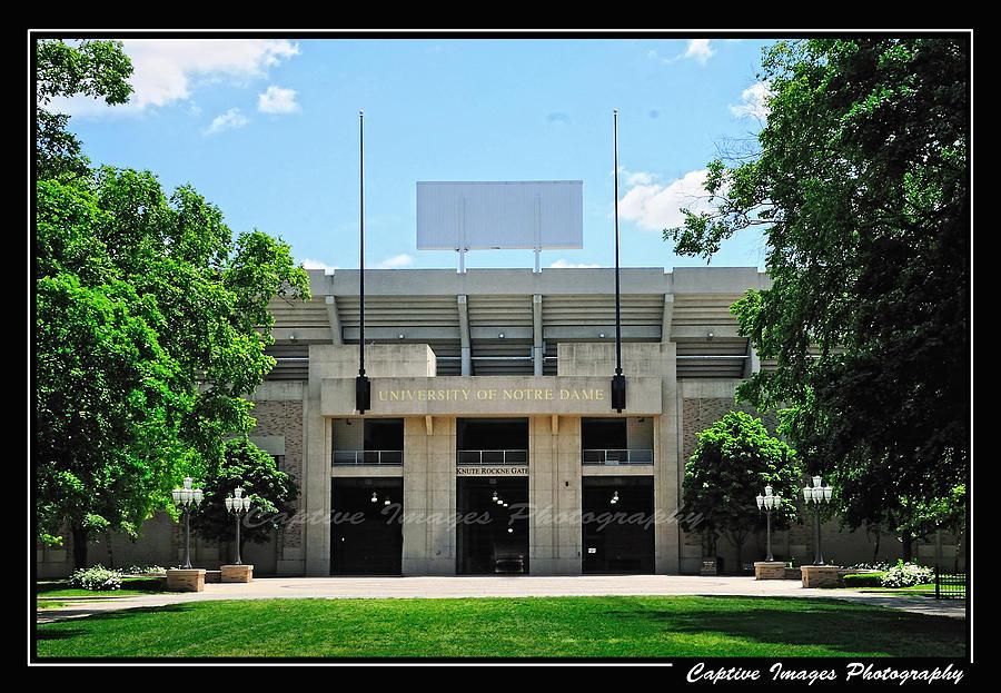 Notre Dame Stadium by John Kiss