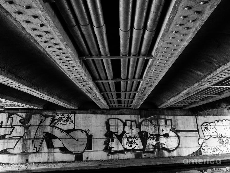 Nottingham Canal Bridge by Stephen Haunts
