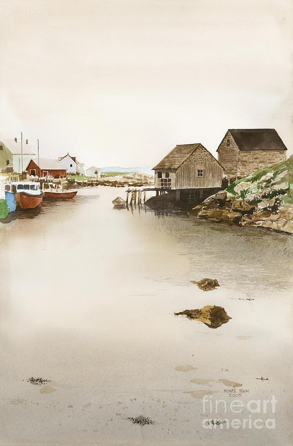 Nova Scotia Painting by Monte Toon
