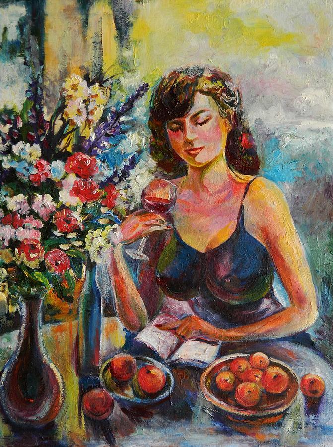 Lady Painting - Novel Reading by Min Wang